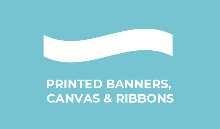 Printed Banners - Canvas - Ribbons
