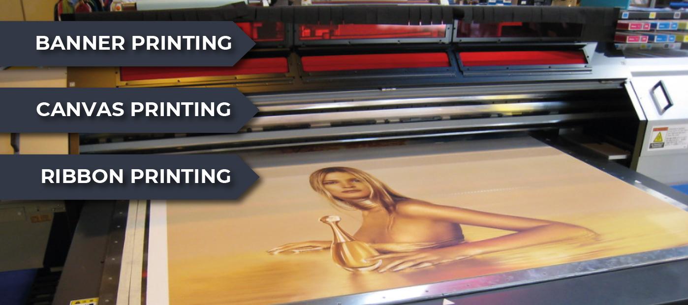 Banner Printing - Canvas Printing - Ribbon Printing