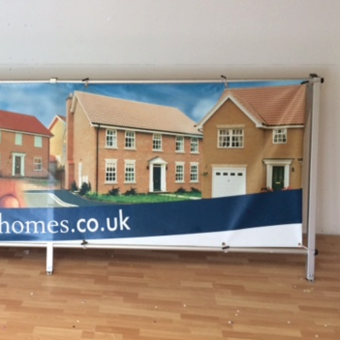Freestanding Banner Systems